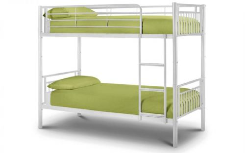 Royale Bunk Bed- White gloss finish 90cm